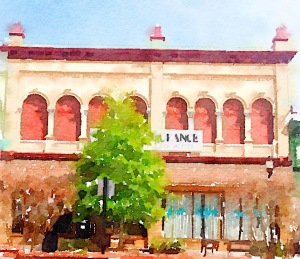"Waterlogue 1.3.1 (72) Preset Style = Vibrant Format = 6"" (Medium) Format Margin = None Format Border = Straight Drawing = #2 Pencil Drawing Weight = Medium Drawing Detail = Medium Paint = Natural Paint Lightness = Auto Paint Intensity = More Water = Tap Water Water Edges = Medium Water Bleed = Average Brush = Natural Detail Brush Focus = Everything Brush Spacing = Narrow Paper = Watercolor Paper Texture = Medium Paper Shading = Light Options Faces = Enhance Faces"